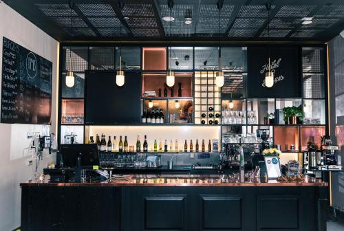 En restaurant eller et spisested på Hotel No13