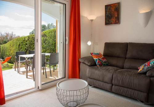 Zona de estar de Casas Plus Costa Brava