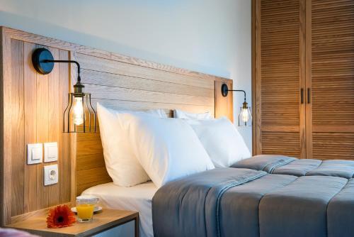 Letto o letti in una camera di Elafonisi Resort by Kalomirakis Family