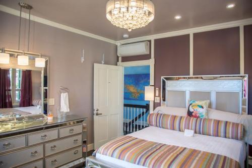 A bunk bed or bunk beds in a room at The Fred - Adults only Hotel