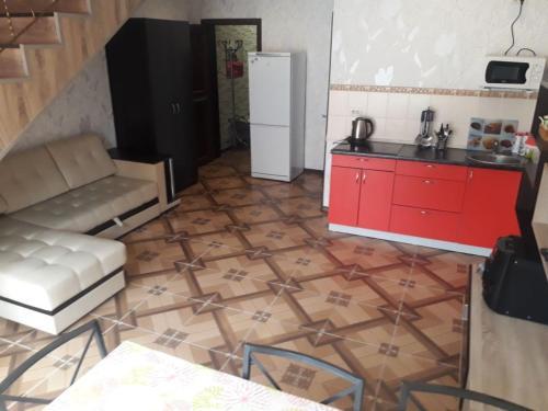 Кухня или мини-кухня в Bungalo