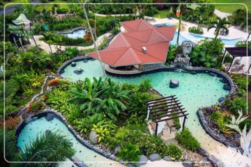 A bird's-eye view of Hotel Arenal Springs Resort & Spa