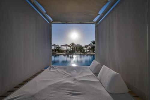 The swimming pool at or near Isrotel Ganim Hotel Dead Sea