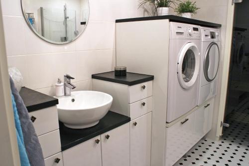 Kylpyhuone majoituspaikassa Villa Romantica