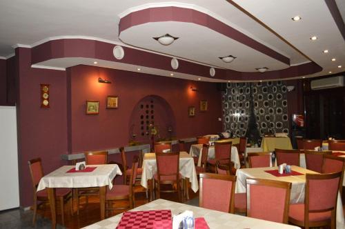 Restauracja lub miejsce do jedzenia w obiekcie Hotel Drama Burgas