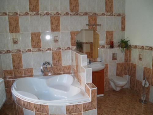 Ванная комната в U Nás