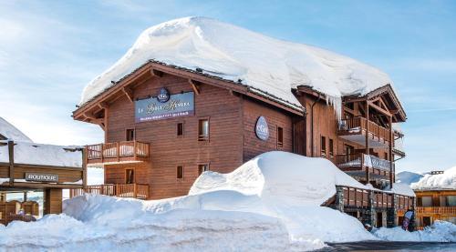 CGH Résidences & Spas Le Lodge Hemera during the winter