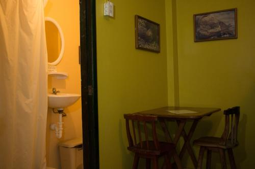 A bathroom at Dreamkapture Hostel