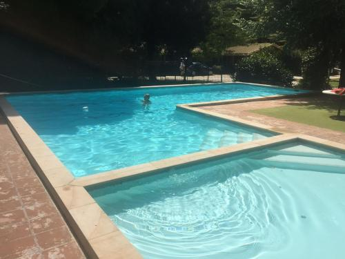 The swimming pool at or near Casbak Alpine Units