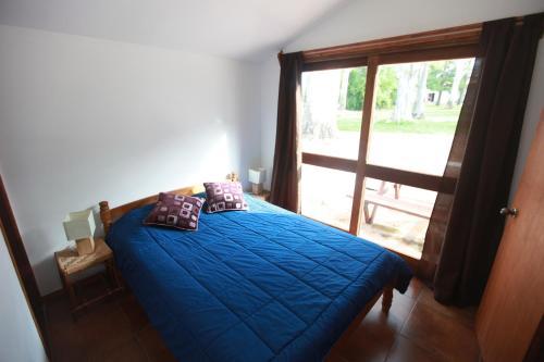 Cama o camas de una habitación en Estancia Termal San Nicanor