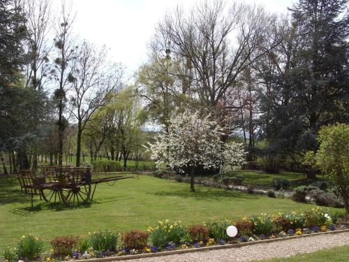 Jardin de l'établissement Domaine de Sainte Anne