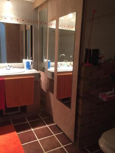 Łazienka w obiekcie Geranio Blanco
