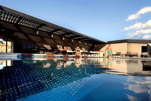 The swimming pool at or near Olivia Balmes Hotel