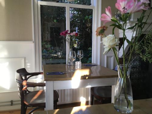 Dining area in the hotel
