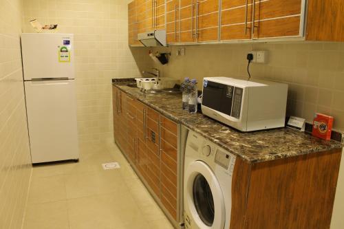A cozinha ou cozinha compacta de Levant Hotel
