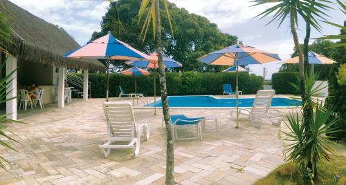 A piscina localizada em Residence Village ou nos arredores