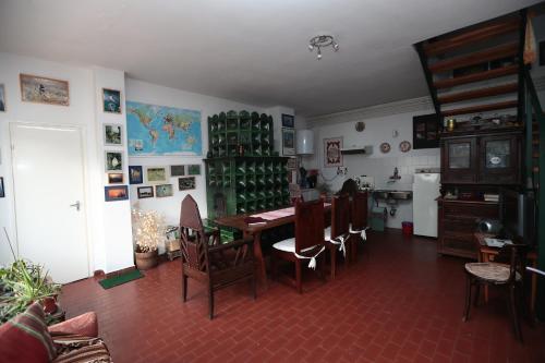 En restaurant eller et andet spisested på Hajdu Lovasudvar Hortobágy