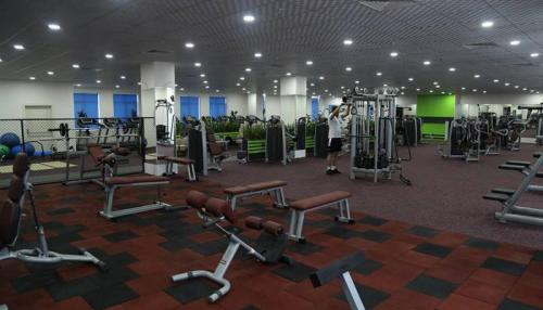 The fitness center and/or fitness facilities at Borapark Otel