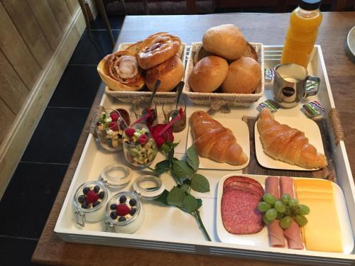 Ontbijt beschikbaar voor gasten van Perle d'O