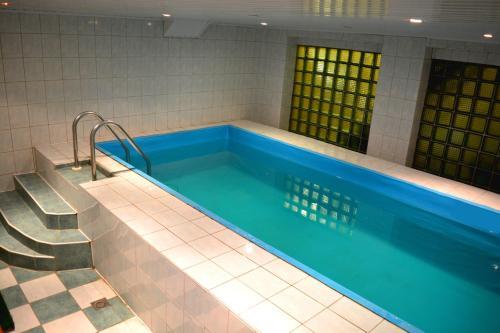 The swimming pool at or near Jeruzale Hotel
