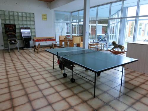 Tischtennis in der Unterkunft Haus Bergland oder in der Nähe