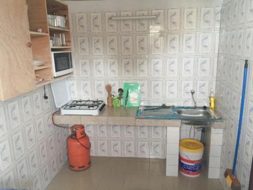A kitchen or kitchenette at Appartement Kara Marie Antoinette