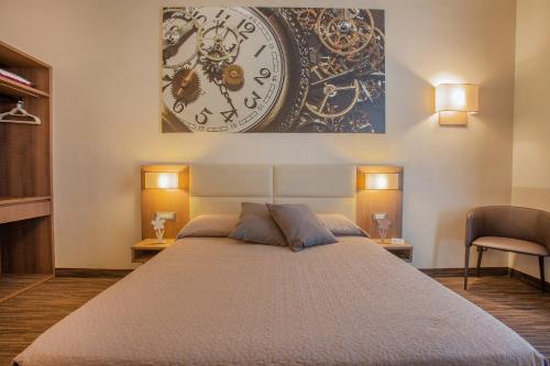 Letto o letti in una camera di B&B Dimora San Felice