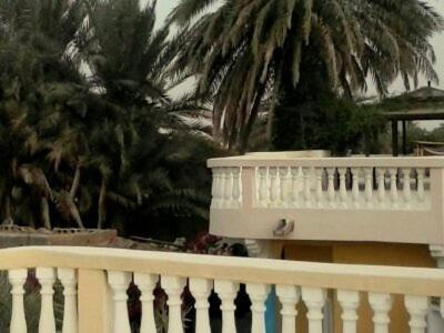 A balcony or terrace at 33 Palms Resort