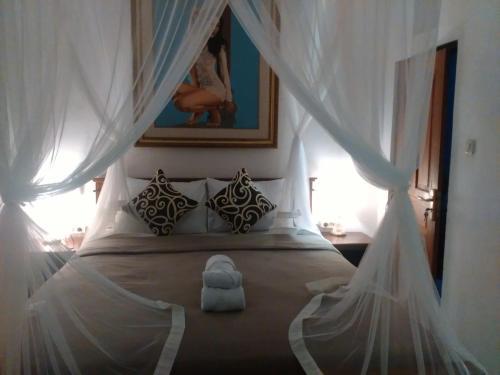 Un ou plusieurs lits dans un hébergement de l'établissement Shiva House
