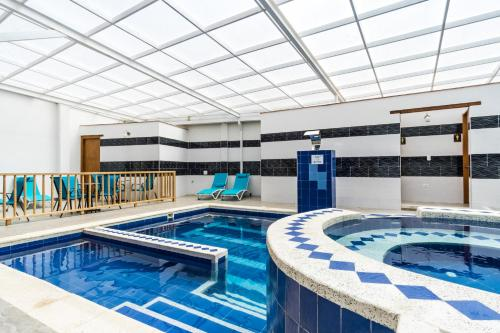 The swimming pool at or near Hotel El Giro