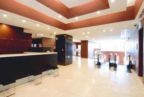 The lobby or reception area at Hotel Keihan Asakusa