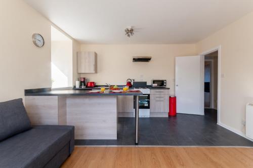 A kitchen or kitchenette at Ben Nevis View