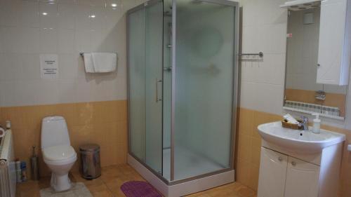 A bathroom at Usadba Yurlovo
