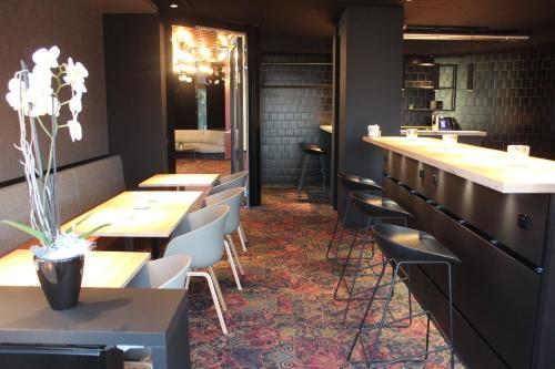 Ein Restaurant oder anderes Speiselokal in der Unterkunft Hotel Stadt Balingen