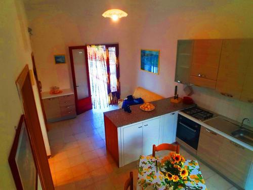 Cucina o angolo cottura di Appartamento Posta