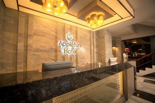 The lobby or reception area at Appleton Boutique Hotel Cebu