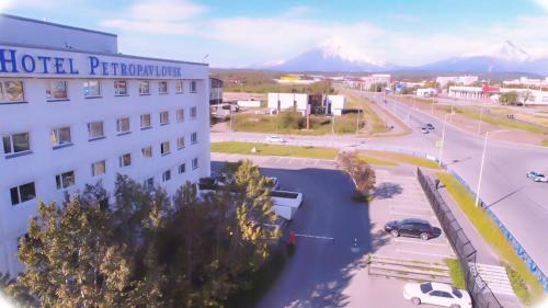 Отель Петропавловск зимой