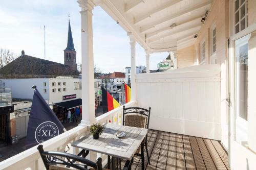 Een balkon of terras bij Hotel XL