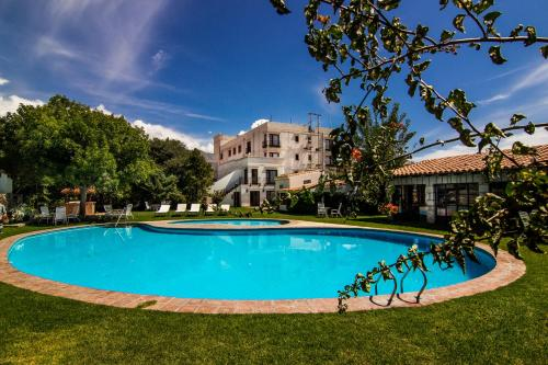 The swimming pool at or near Hotel Asturias