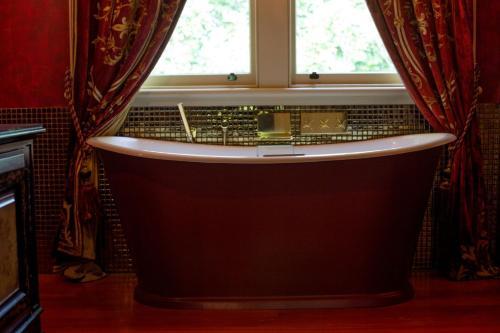 A bathroom at The Old Church Villa