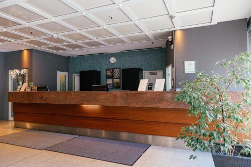 Lobby/Rezeption in der Unterkunft Hotel Excelsior - Central Station
