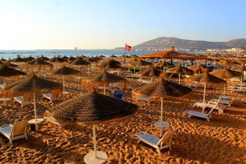 A bird's-eye view of Agadir Beach Club