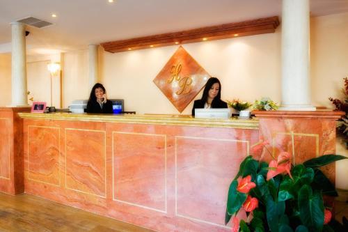 Staff members at Hotel Bright
