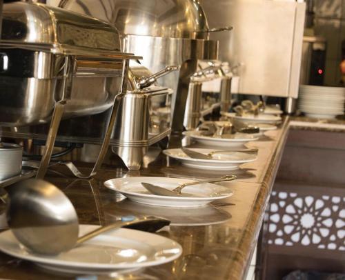 A cozinha ou cozinha compacta de Down Town Jeddah