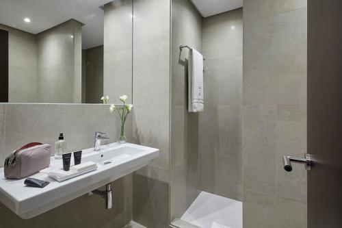 Un baño de Hotel Rey Alfonso X