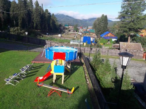 Детская игровая зона в Cеребрянный Берег
