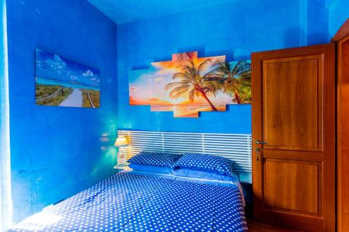 A bed or beds in a room at B&B Casa Florinda