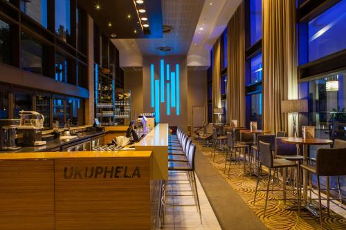 A restaurant or other place to eat at Garden Court Umhlanga