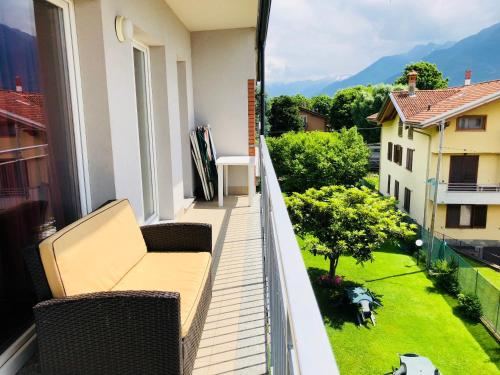 Balcon ou terrasse dans l'établissement Residence Windsurf