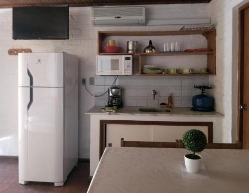 Una cocina o zona de cocina en Bungalows Archi